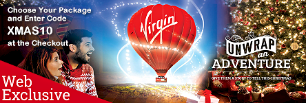 Virgin Balloon Flights - Unwrap an Adventure