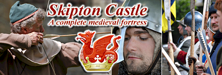 Skipton Castle - A Complete Medieval Fortress