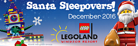 Legoland Windsor - Santa Sleppovers