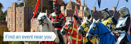 English Heritage - Jousting Tournaments and Events