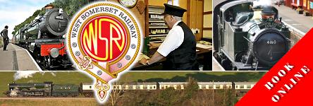 Visit the West Somerset Railway - Book Your Ticket Online