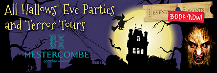 Hestercombe Gardens - Hallows Eve Parties and Terror Tours