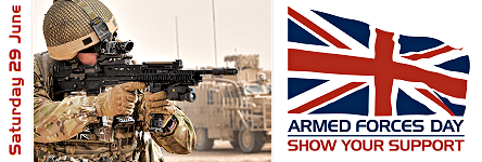 Link to www.armedforcesday.org.uk