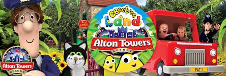 Link to CBeebies Land at Alton Towers Resort