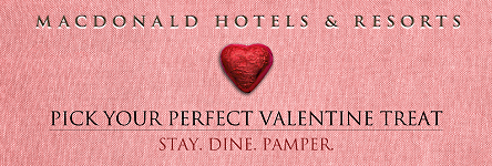Macdonald Hotels - Pick Your Perfect Valentine Treat